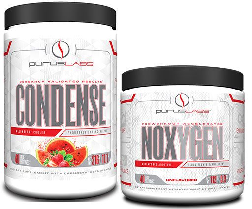 Condense and NOXYGEN Stack - Melonberry Cooler