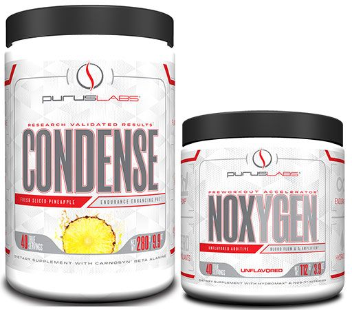Condense and NOXYGEN Stack - Fresh Slice Pineapple