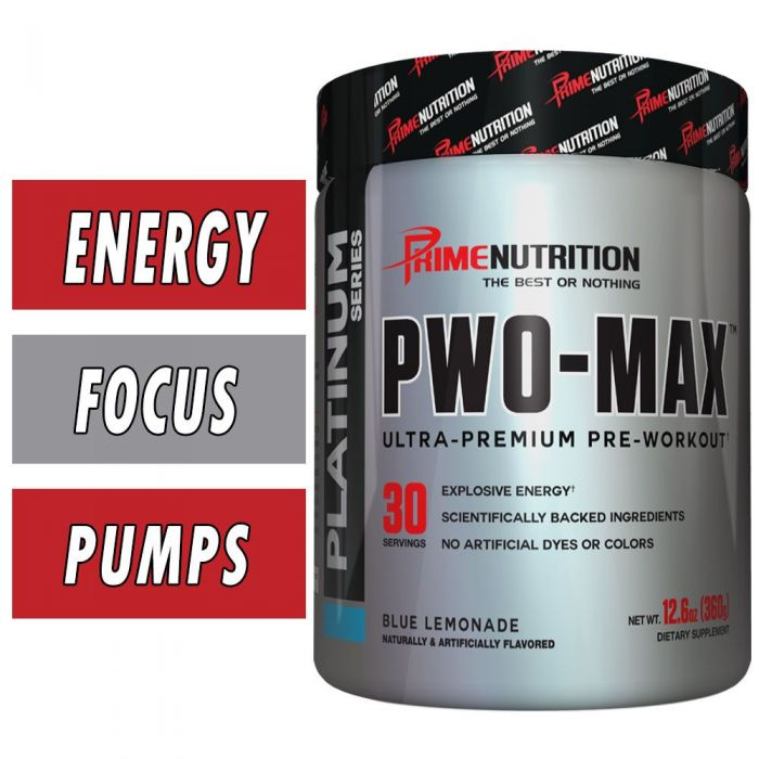 PWO MAX By Prime Nutrition