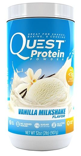 Quest Protein Powder Vanilla Milkshake 2lb by Quest Nutrition