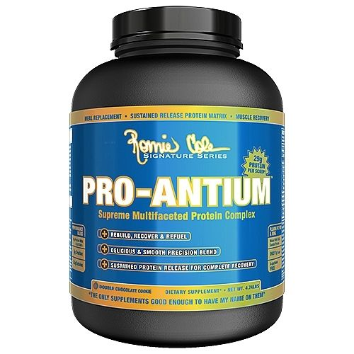 Ronnie Coleman Signature Series Pro-Antium Double Chocolate Cookie 4.74lb Protein