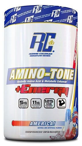 Amino Tone Energy By Ronnie Coleman Signature Series, America, 30 Servings
