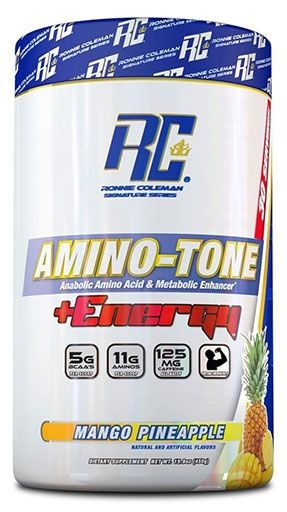 Amino Tone Energy By Ronnie Coleman Signature Series, Mango Pineapple, 30 Servings