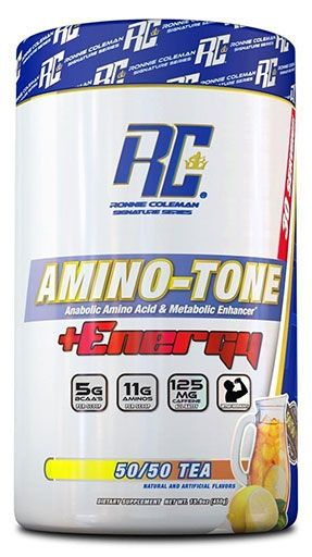 Amino Tone Energy By Ronnie Coleman Signature Series, 50/50 Tea, 30 Servings