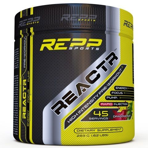 Reactr Pre Workout - Dragon Fruit - 45 Servings