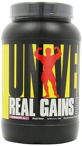 Real Gains By Universal Nutrition, Strawberry 3.81lb