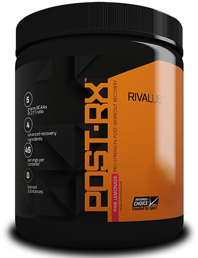 Post-RX, By RIVALUS, Pink Lemonade, 45 Servings,