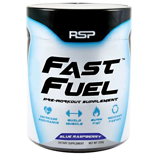 Rsp Nutrition Fast Fuel Blue Raspberry 45 Servings