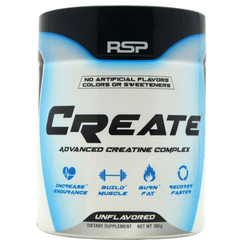 Rsp Nutrition Create Unflavored 50 Servings