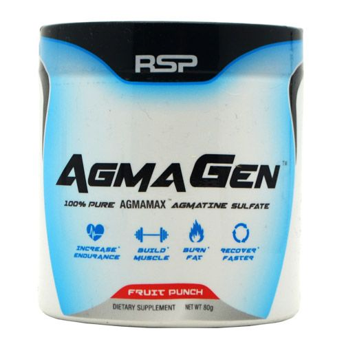 Rsp Nutrition AgmaGen Fruit Punch 50 Servings