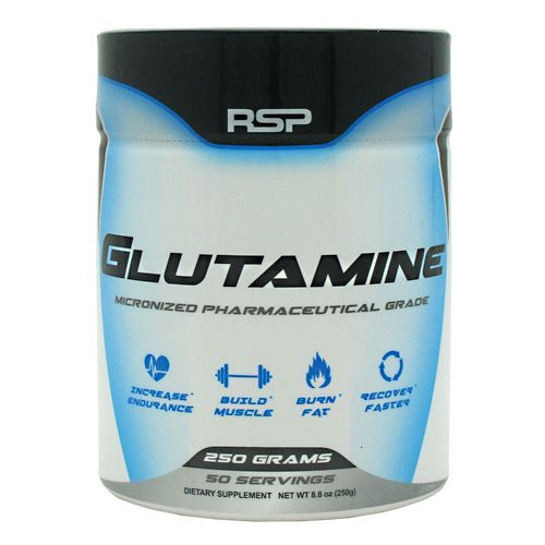Rsp Nutrition Glutamine Unflavored 250 Grams