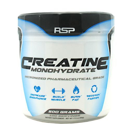 Rsp Nutrition Creatine Monohydrate Unflavored 500 Grams