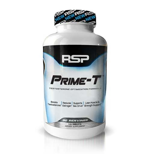 Prime T By RSP Nutrition, 120 Tabs