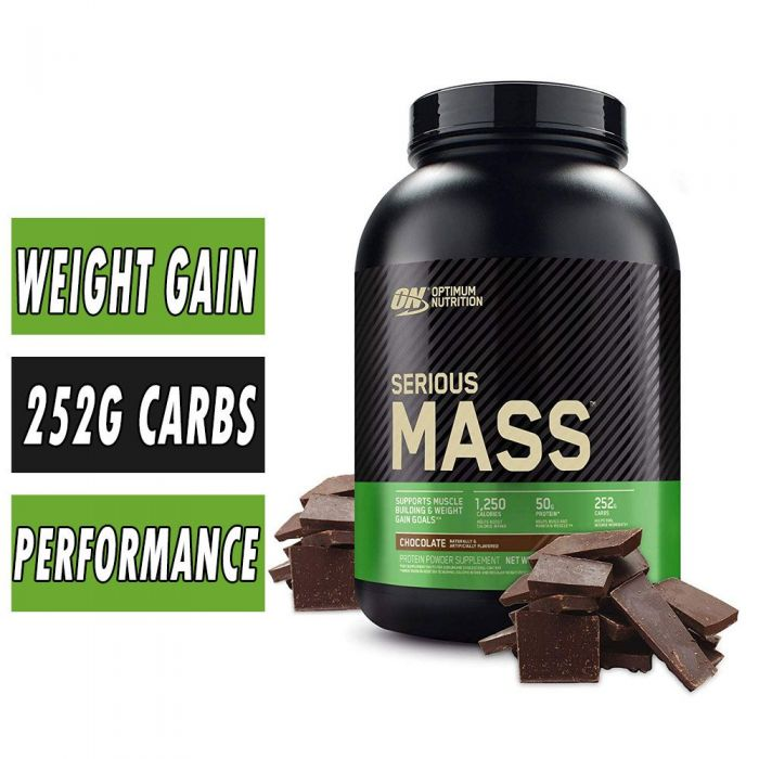 Serious Mass by Optimum Nutrition, Weight Gainer, Protein