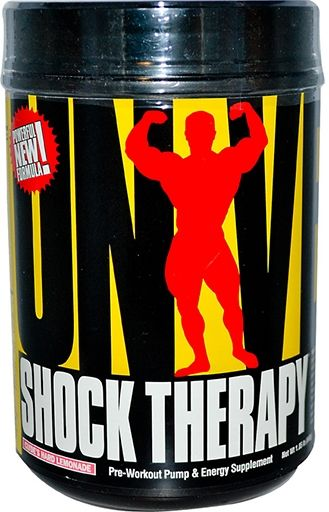 Shock Therapy Pre-Workout By Universal Nutrition, Clyde's Hard Lemonade 1.85lb