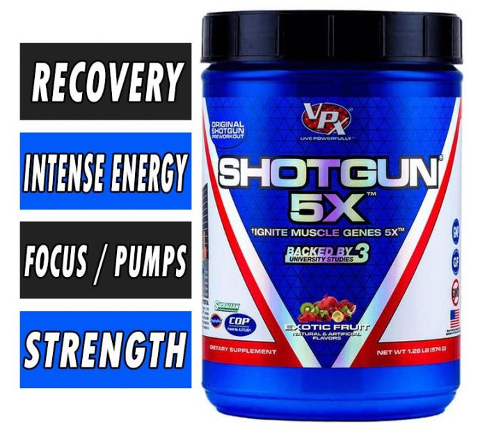 VPX Sports Shotgun 5X Pre Workout
