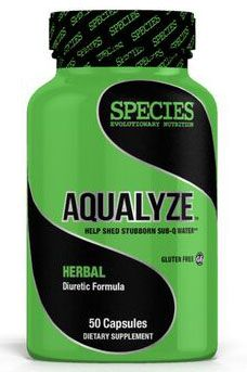Aqualyze, By Species Nutrition, Herbal Diuretic, 50 Caps Image