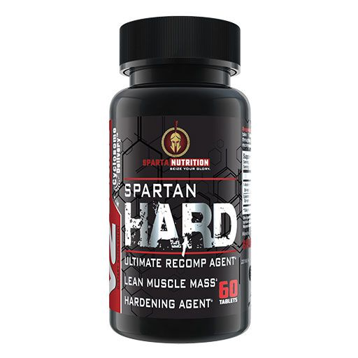 Spartan Hard By Sparta Nutrition, 60 Caps