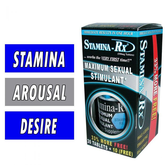Stamina Rx, By Hi-Tech Pharmaceuticals