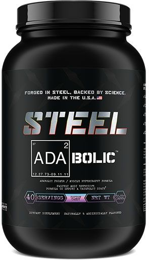 Adabolic By Steel, Cotton Candy, 40 Servings