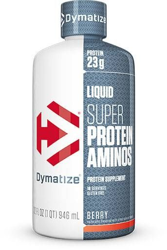 Super Protein Aminos 23g, Dymatize Nutrition, Berry, 32oz