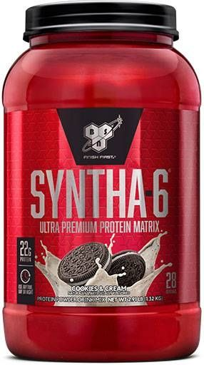 BSN Syntha 6, Cookies & Cream, 2.91lbs