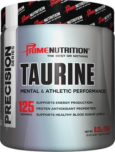 Taurine By Prime Nutrition, Unflavored, 250 Grams