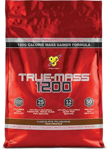 BSN True Mass 1200, Chocolate Milkshake, 10.25lb