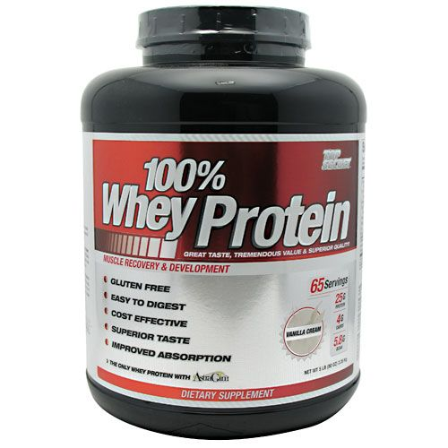 Top Secret Nutrition 100% Whey Protein Vanilla Cream 5lb