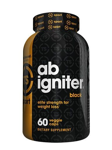 Ab Ignitor Black By Top Secret Nutrition, 60 Caps