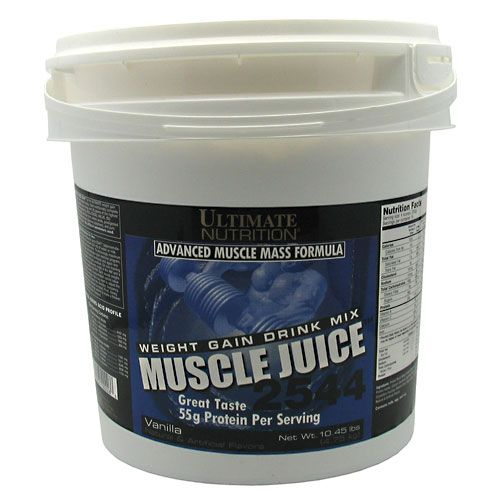 Ultimate Nutrition Muscle Juice 2544 Weight Gain Vanilla 10.45lb