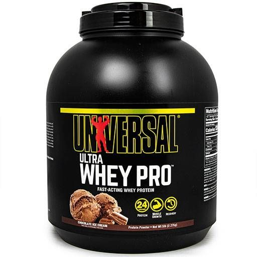 Ultra Whey Pro, Universal Nutrition, Chocolate, 5lb