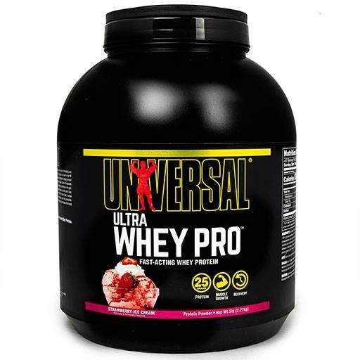 Ultra Whey Pro, Universal Nutrition, Strawberry, 5lb