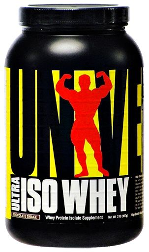 Ultra Iso Whey By Universal Nutrition, Protein Chocolate Shake 2lb