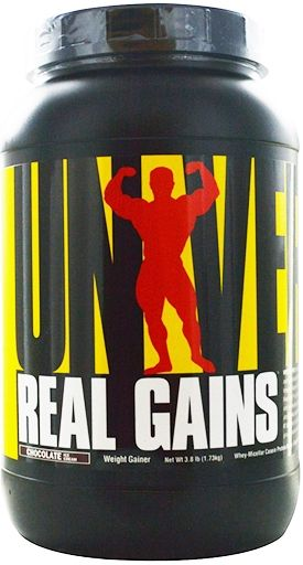 Universal Nutrition Real Gains Chocolate 3.81 lb.