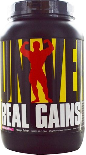 Universal Nutrition Real Gains Strawberry 3.81 lb.