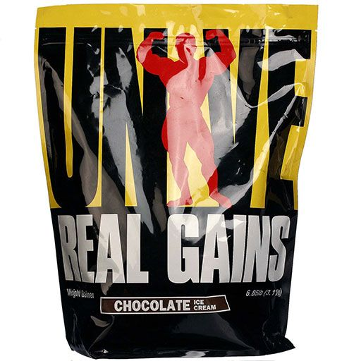Real Gains By Universal Nutrition, Chocolate 6.85lb Image