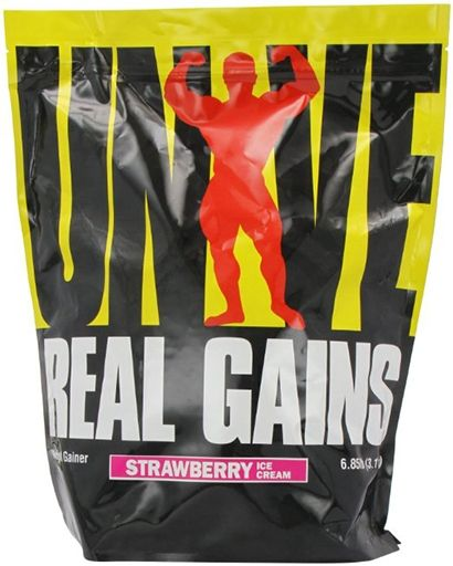 Universal Nutrition Real Gains Strawberry 6.85 lb.