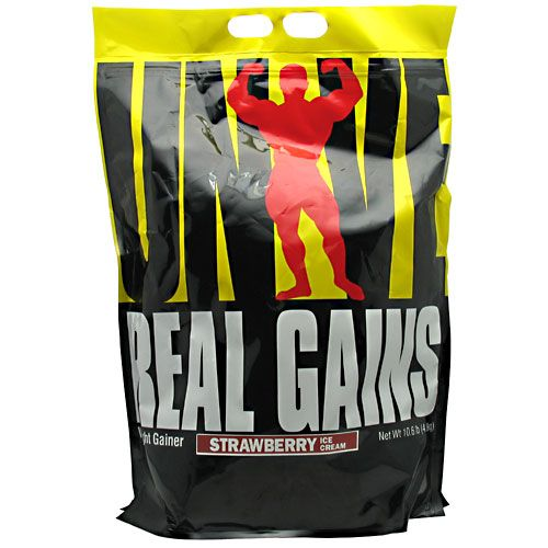 Universal Nutrition Real Gains Strawberry 10.6 lbs