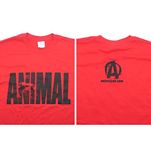 Universal Nutrition Red Animal T-Shirt Medium