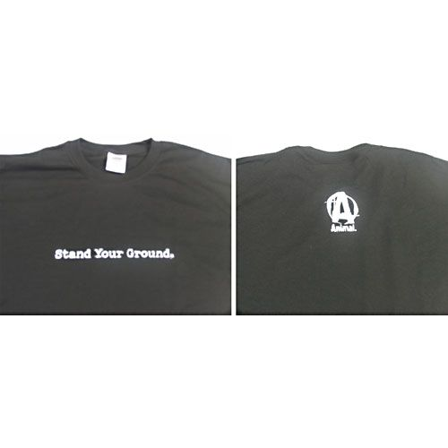 Universal Nutrition, Animal Stand Your Ground Black T-Shirt, Large
