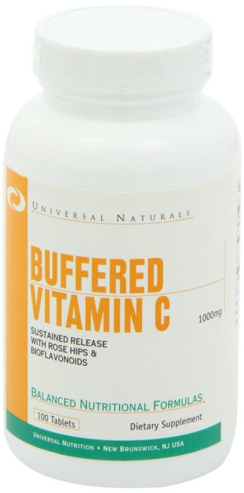 Universal Nutrition Vitamin C Buffered 1000 Mg 100 Tabs