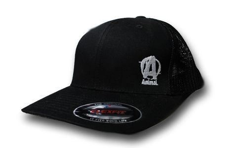 Universal Nutrition Animal Black Flexfit Cap
