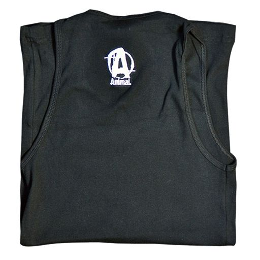 Universal Nutrition, Black Animal Logo Tank, Large