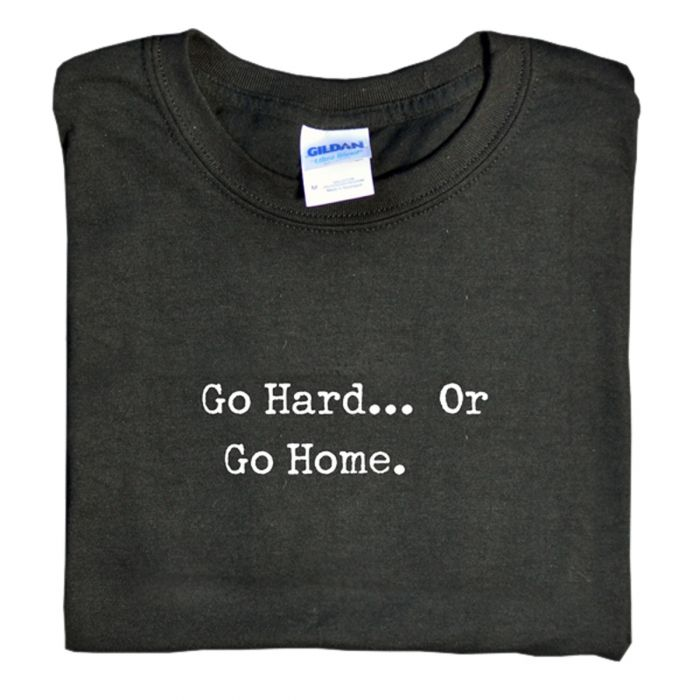 Universal Nutrition Go Hard Or Go Home T-Shirt (black) Large