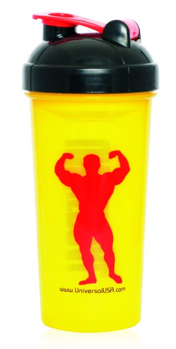Universal Nutrition Universal Yellow Shaker Cup