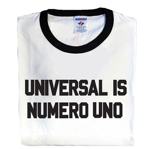 Universal Nutrition, Universal is Numero Uno Ringer T-Shirt, Medium