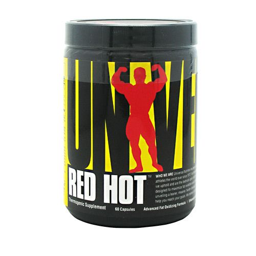 Universal Nutrition Red Hot 60 Caps Thermogenic