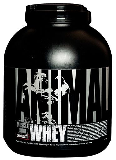 Animal Whey Protein, By Universal Nutrition, Chocolate, 4lb
