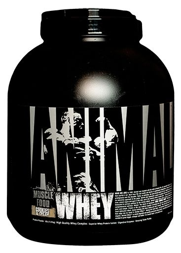 Animal Whey Protein, By Universal Nutrition, Cookies and Cream, 4lb